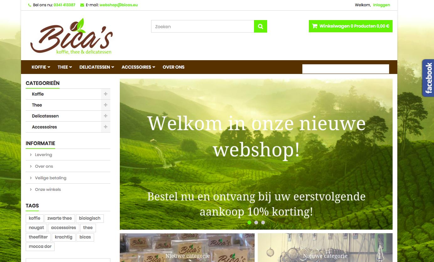 webshop afdruk